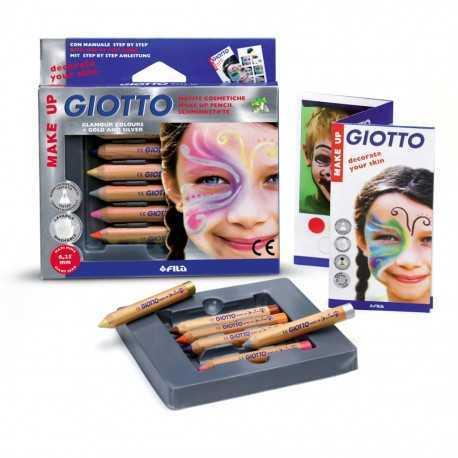 6 crayons de maquillage pour enfants