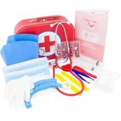 Mallette de jeu, Hôpital, médecin, infirmière
