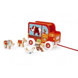 Voitures à formes puzzle modèle Cirque