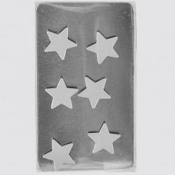 6 Aimants magnets en forme d'étoiles