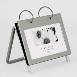 Silver photo album size 10x15 cm