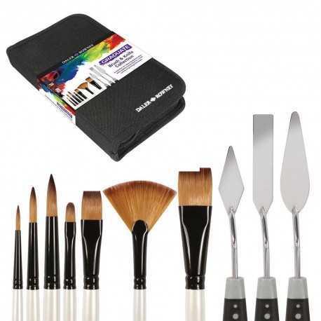 Trousse pour Pinceaux & Couteaux pour l'huile ou l'acrylique