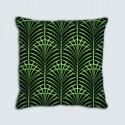 Coussins motif : Art déco Palmes