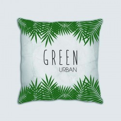 Coussin motif : Green Urban