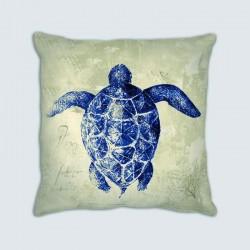 Coussin motif : Mer, la tortue de mer