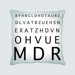 Coussin motif : Opticien