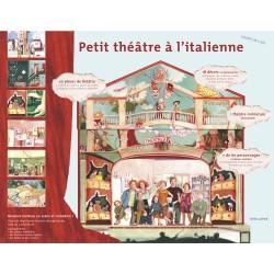 Coffret de jeu, mon petit théâtre à l'Italienne