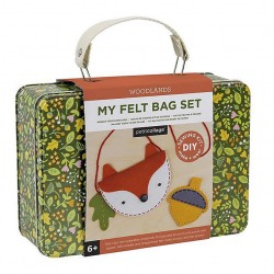 Felt bag set sewing kit