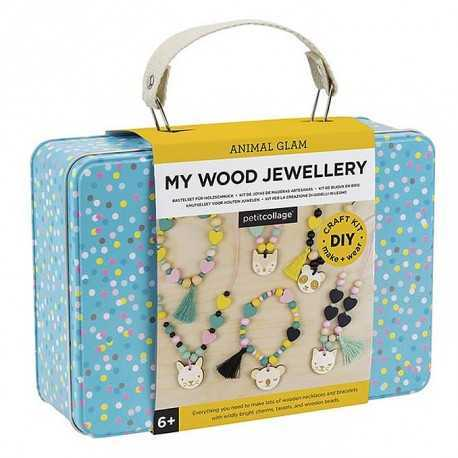 Kit de bijoux en bois