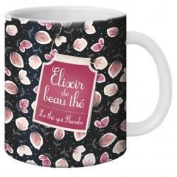 "Mug, ""Elixir de beau thé"" de Puce & Nino"