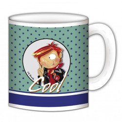 "Mug, ""Gaston Cool"" de FiFi Bastille"