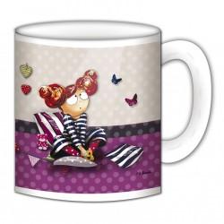 """Mug, """"Tu es à croquer"""" de FiFi Bastille"""