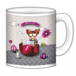 """Mug, """"Une vraie feuille de choux"""" de FiFi Bastille"""