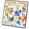 Words in English & French, educational game for kids