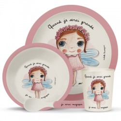 Tableware set for children Je serai magique
