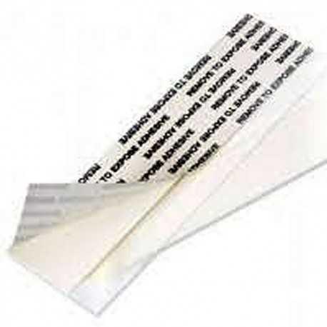 Transparent mounting strips