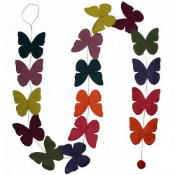 butterfly paperchain