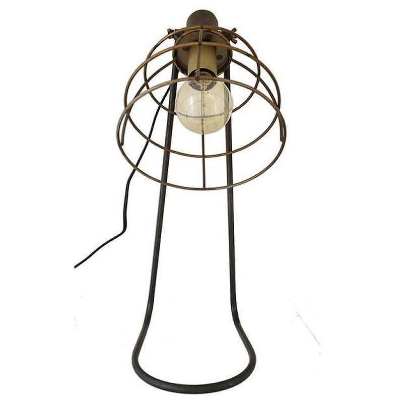 lampe industrielle poser en m tal fonc. Black Bedroom Furniture Sets. Home Design Ideas