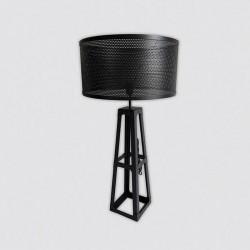 Lampe industrielle à poser métal foncé