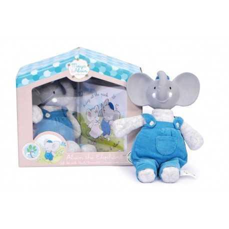 Alvin l'éléphant, ensemble cadeau avec livre