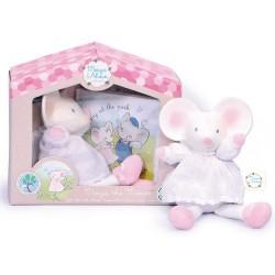 Meiya la petite souris, ensemble cadeau avec livre pour enfant