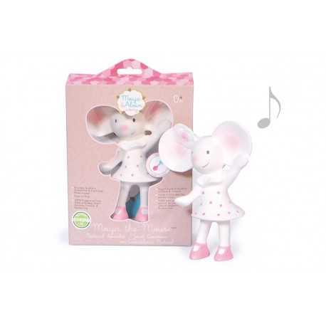 Meiya the mouse, squeaker, teething toy