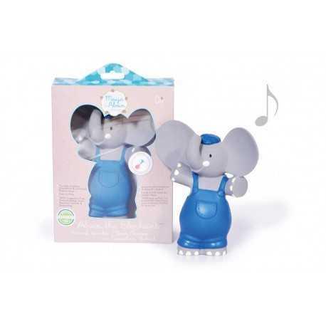 Alvin the elephant, squeaker, teething toy