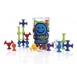 Squigz, jeu éducatif de 24 pièces en silicone