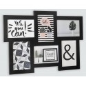 Multiview picture frame, 6 pictures 10x15