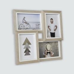 Cadre photo multivues, 4 vues 10x15