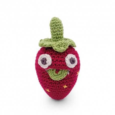 Hochet Blaise la mini fraise