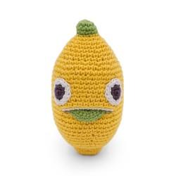 Hochet pour nouveau né, Léon le citron