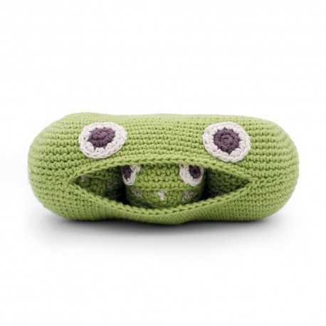 Rattle for newborn, The Family Peas