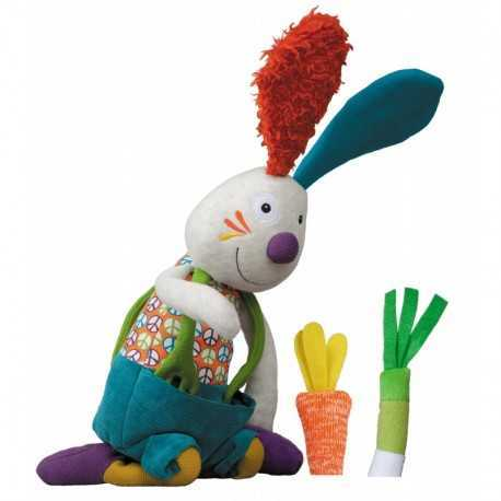 Jef the activity rabbit Peace and Love