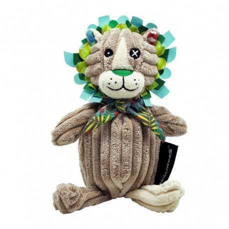 Petite peluche Simply en velours, Jelekros le Lion
