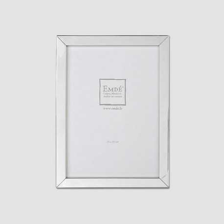 Silver flat photo frame
