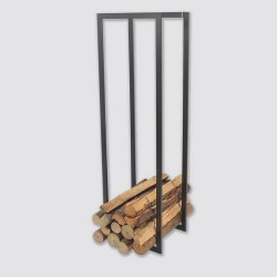 Elegant piece of furniture for wood logs