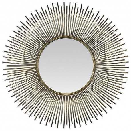 Miroir soleil argent effet bombe