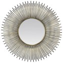 Silver sun mirror effect bomb