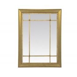 Miroir doré grand format