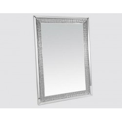Miroir joyau strass grand format
