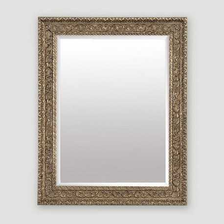 Large carved golden mirror 70x100