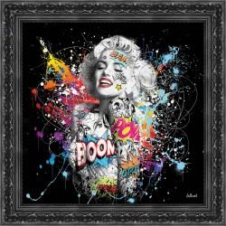 Tableau Marilyn Monroe par Sylvain Binet