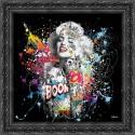 Marilyn Monroe painting by Sylvain Binet