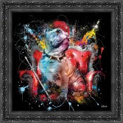 Tableau Bulldog Angalis par Sylvain Binet