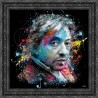 Gainsbourg painting by Sylvain Binet
