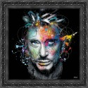 Johnny painting by Sylvain Binet