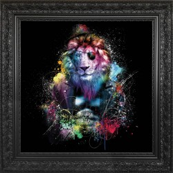 Lion painting by Sylvain Binet