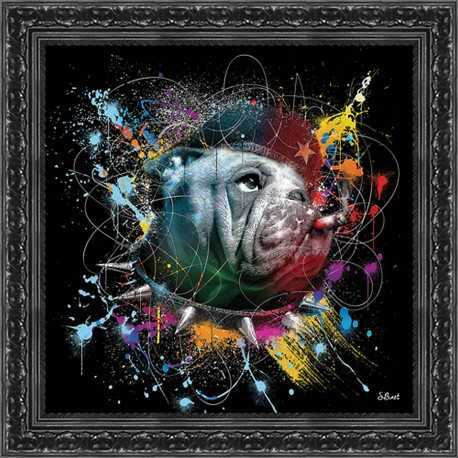 Che gevadog painting by Sylvain Binet