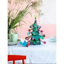 Décoration, le sapin de Noël à assembler